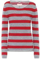 81 Hours 81hours Carnabi striped cashmere sweater