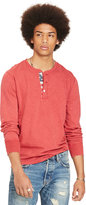 Ralph Lauren Flag-placket Jersey Henley