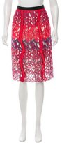 Peter Pilotto Guipure Lace Pencil Skirt w/ Tags