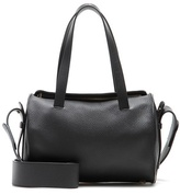 The Row Drum Leather Shoulder Bag