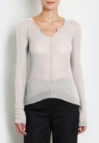 Inhabit Sheer Ribbed LST Sweater