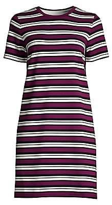 MICHAEL Michael Kors Women's Striped Short-Sleeve T-Shirt Dress