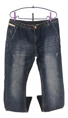 Diesel Blue Polyester Jeans