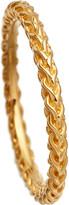 Astley Clarke Stilla Spiga yellow gold vermeil chain ring