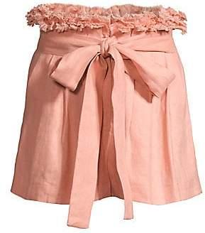 Alexis Women's Jolan Tie-Waist Linen Shorts