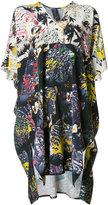 Zero Maria Cornejo abstract print shift dress