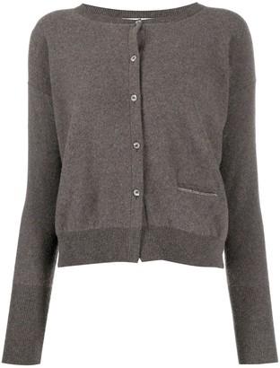 Fabiana Filippi Long-Sleeved Knitted Cardigan