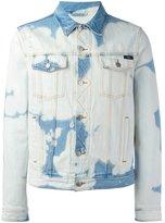 Ami Alexandre Mattiussi bleached denim jacket
