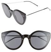 Spitfire Women's Alpha 2 60Mm Sunglasses - Black/ Black