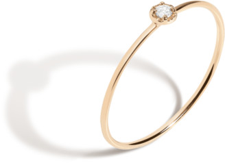 AUrate New York Mini Stackable Diamond Ring