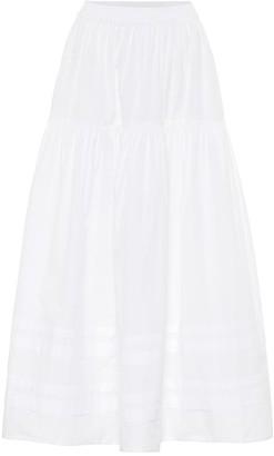 Cecilie Bahnsen Eiko cotton-poplin midi skirt