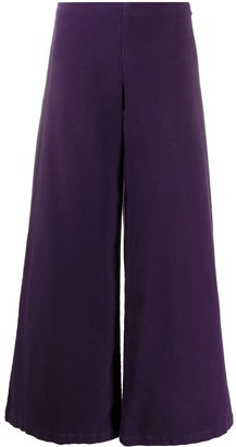 Stefano Mortari Ankle Length Flared Trousers