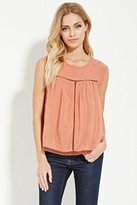 Forever 21 FOREVER 21+ Contemporary Lace-Paneled Top