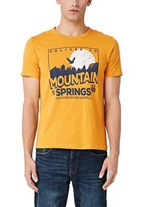 S'Oliver Men's 13.909.32.7976 T-Shirt,L