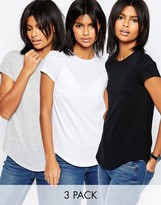 Asos The Ultimate Crew Neck 3 Pack