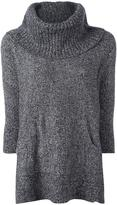 MICHAEL Michael Kors oversized marled jumper - women - Cotton/Nylon/Alpaca/Merino - S