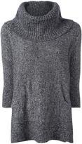 MICHAEL Michael Kors oversized marled jumper - women - Nylon/Merino/Alpaca/Cotton - S