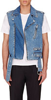 Maison Margiela Men's Denim Moto Vest