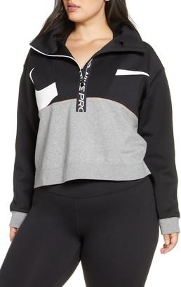 Nike Pro Dri-FIT Fleece Half-Zip Pullover