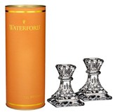 Waterford Giftology Lismore Set Of 2 Lead Crystal Candlesticks