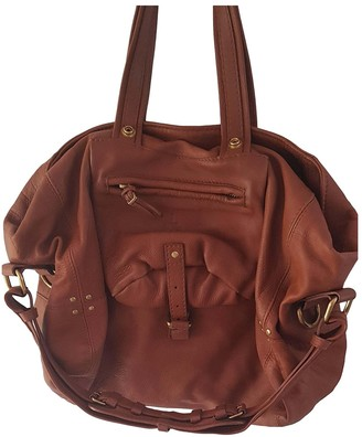 Jerome Dreyfuss Billy Brown Leather Handbags