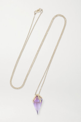 ara Vartanian - 18-karat White Gold Amethyst Necklace