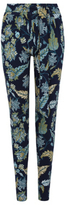 George Floral Print Tapered Trousers