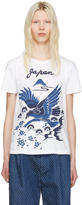 Blue Blue Japan White Hawk T-shirt