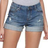 JLO by Jennifer Lopez Women's Cuffed Jean Shorts