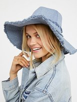 Free People Darling Denim Bucket Hat