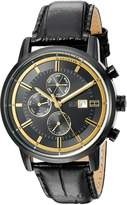 Tommy Hilfiger Men's Quartz Resin and Leather Casual Watch, Color: (Model: 1791245)
