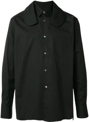 Comme des Garçons Shirt Layered-Collar Cotton Shirt