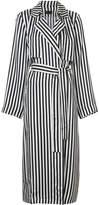 RtA striped trench coat