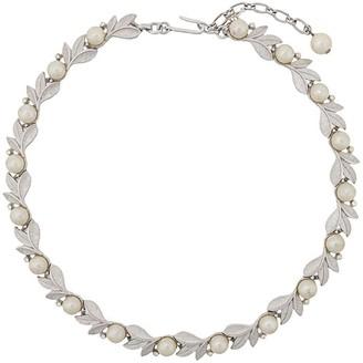 Susan Caplan Vintage 1960's Trifari floral necklace