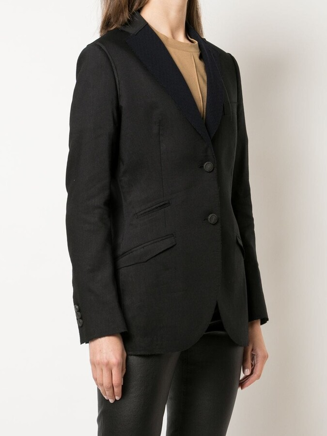 Thumbnail for your product : Maurizio Miri Single-Breasted Wool Jacket