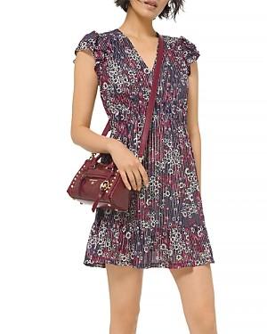 MICHAEL Michael Kors Zinnia Ruffled Mini Dress