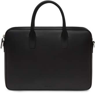 Mansur Gavriel Black Small Briefcase - Blu