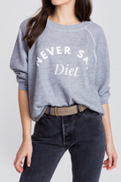 Wildfox Couture Never Say Diet Tee
