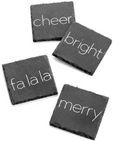 Jay Imports Merry & Bright 4-Pc. Coaster Set, Created for Macy's