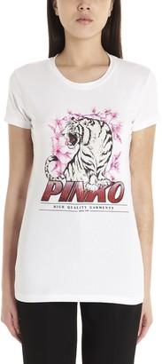 Pinko Tiger Print T-Shirt