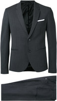 Neil Barrett slim-fit two-piece suit - men - Polyester/Spandex/Elastane/Virgin Wool - 46