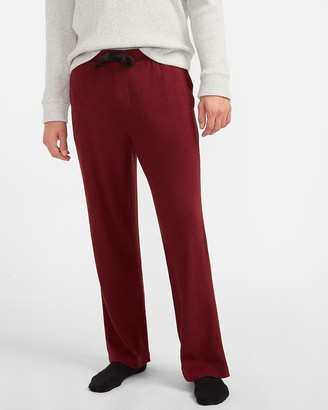Express Solid Flannel Sleep Pants