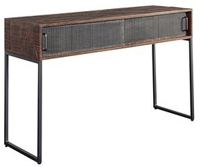"""17 Stories Hertford 50"""" Solid Wood Console Table"""