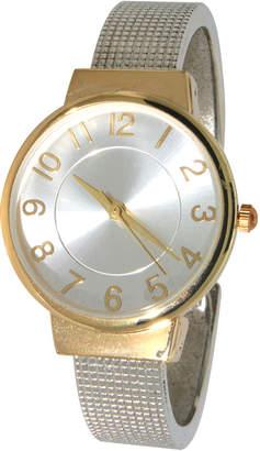 Olivia Pratt Slip-On Mesh Cuff Watch
