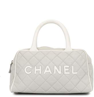 Chanel Pre-Owned Sports Line diamond quilted tote