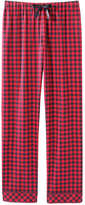 Joe Fresh Women's Print Flannel Bottom, Print 1 (Size S)