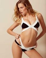 Agent Provocateur Mazzy Bikini Brief White And Black