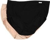 Jockey Elance Supersoft Classic Fit Brief (Black/Light/Ivory) Women's Underwear