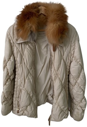 Henry Cotton White Jacket for Women
