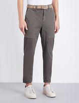 Brunello Cucinelli Regular-fit cotton trousers